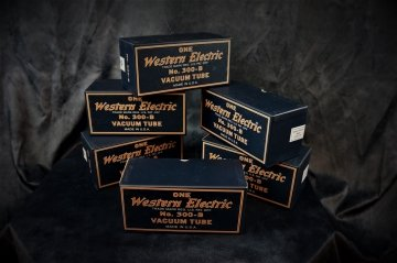 WESTERN ELECTRIC 300B NEW IN  BOX